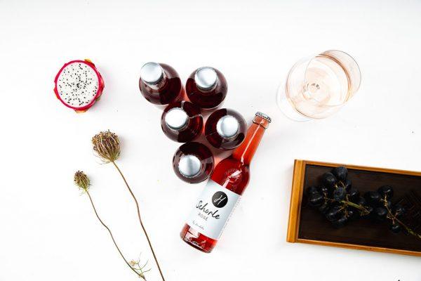 Weinschorle Flaschen